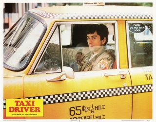 Taxi Driver (Collection of 8 original lobby cards from the 1976 film). Martin Scorsese, Paul...