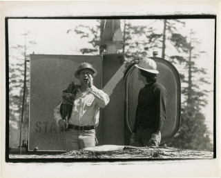 Sometimes a Great Notion (Original photograph from the set of the 1970 film). Ken Kesey, Lee...
