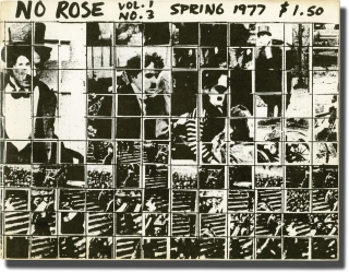 No Rose: Vol. 1 Issue 3, Spring 1977 (First Edition, inscribed by Yvonne Rainer). Richard Levine,...