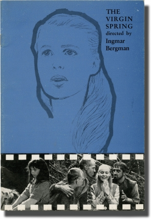 The Virgin Spring (Original program for the 1960 film). Ingmar Bergman, Ulla Isaksson, Birgitta...