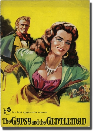 The Gypsy and the Gentleman (Original program for the 1958 film). Joseph Losey, Nina Warner Hooks...