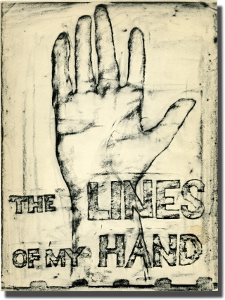 The Lines of My Hand (First Edition). Robert Frank.