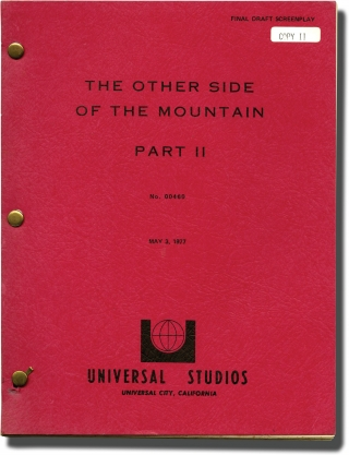 The Other Side of the Mountain, Part 2 (Original screenplay for the 1975 film). Larry Peerce, E...