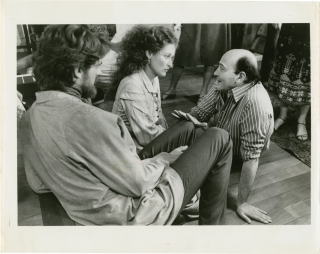 The French Lieutenant's Woman (Original photograph of Meryl Streep, Karel Reisz, and Jeremy Irons...