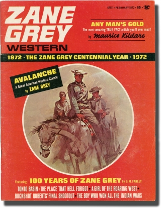 Zane Grey Western Magazine (Volume 4, Number 4). Zane Grey, Leo Margulies, Romer Grey Cylvia Kleinman, Dr. Loren Grey, publisher.