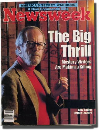 Newsweek (Volume CV, Number 16, April 22, 1985). Elmore Leonard, Richard M. Smith, Jane Bryant...