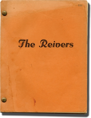 The Reivers (Original screenplay and shooting schedule for the 1969 film). William Faulkner, Mark...