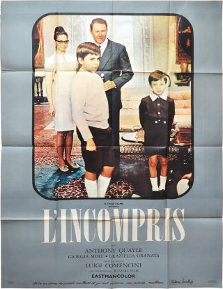 Misunderstood [L'incompris] (Original French poster for the 1967 film). Luigi Comencini, Piero De...