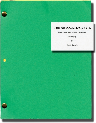 The Advocate's Devil (Original screenplay for the 1997 television movie). Jeff Bleckner, James...