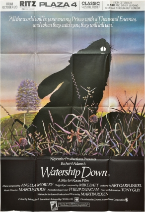 Watership Down (Original British poster for the 1978 film). Richard Adams, Martin Rosen, Richard...