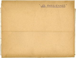 Tales of Paris [Les Parisiennes] (Original press kit for the 1962 film). Marc Allegret, Michel...
