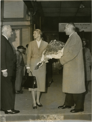 Ingrid Bergman in France (Collection of 45 original photographs). Ingrid Bergman, P. Jannaud R....