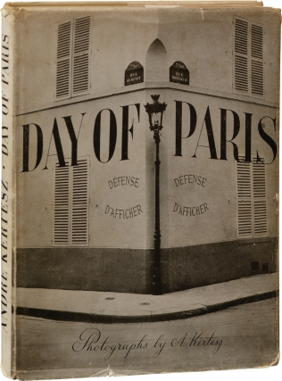 Day of Paris (First Edition). Andre Kertesz