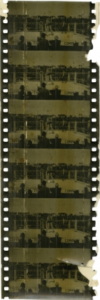 The Corbett-Fitzsimmons Fight (Original 63mm film fragments from the 1897 film). Enoch J. Rector,...