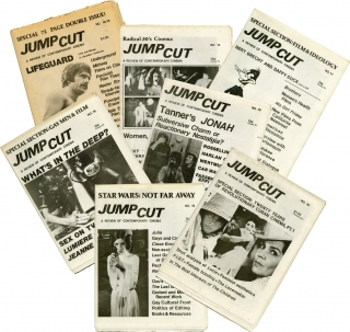 Collection of 8 early issues of Jump Cut: A Review of Contemporary Cinema (Original periodicals)....