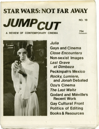 Collection of 8 early issues of Jump Cut: A Review of Contemporary Cinema