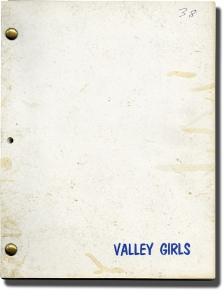 The Vals [Valley Girls] (Original screenplay for the 1983 film). James Polakof, Shirley Rothman...