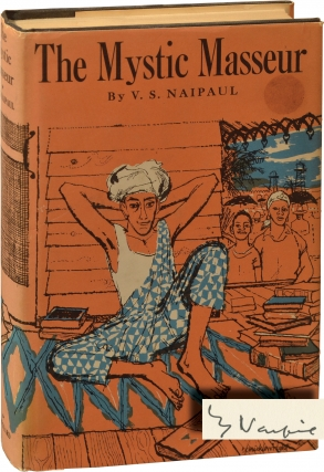 The Mystic Masseur (Signed First Edition). V. S. Naipaul