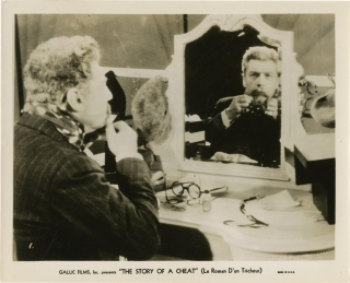 The Story of a Cheat [Le Roman D'un Tricheur] (Collection of 13 original photographs from the...