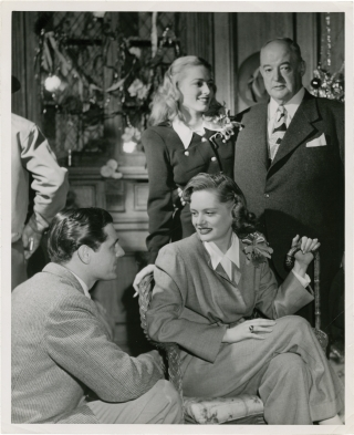 The Woman in White (Original photograph for the 1948 film, belonging to actress Eleanor Parker). Peter Godfrey, Bob Palmer, Wilkie Collins, Stephen Morehouse Avery, Eleanor Parker Alexis Smith, Gig Young, Sydney Greenstreet, director, photographer, novel, screenwriter, starring.