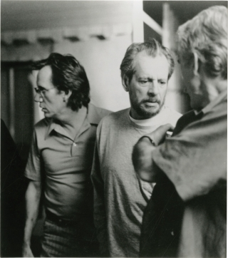 Another Day in Paradise (Original photograph of Larry Clark and James Woods on the set of the...