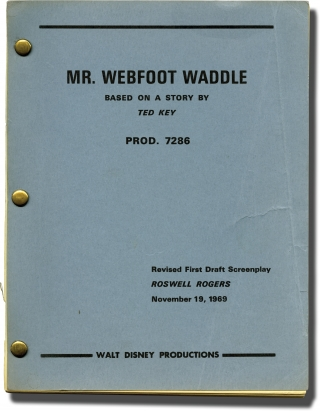 The Million Dollar Duck [Mr. Webfoot Waddle] (Original screenplay for the 1971 film). Vincent...