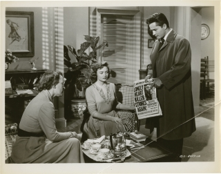 Scandal Sheet (Collection of three original photographs from the 1952 film). Phil Karlson, Samuel...