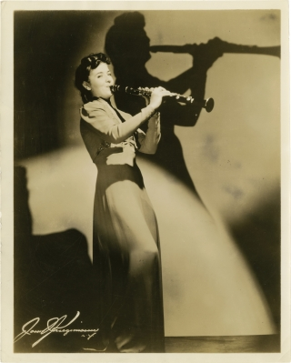 Ann Dupont (Original photograph, circa 1940). Ann Dupont, subject