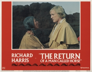 The Return of a Man Called Horse (Collection of 8 original lobby cards from the 1976 film). Irvin...