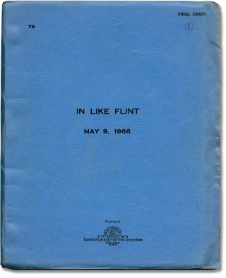 In Like Flint (Original screenplay for the 1967 film). Gordon Douglas, Hal Fimberg, Lee J. Cobb...