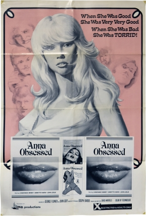 Teenage Seductress [Anna Obsessed] (Original poster for the 1975 film). Chris Warfield, John Goff...