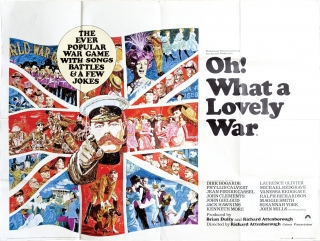 Oh What a Lovely War (Original British quad poster for the 1969 film). Richard Attenborough,...