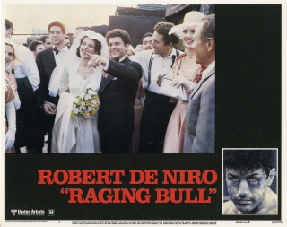 Raging Bull (Complete set of US lobby cards for the 1980 film). Martin Scorsese, Martin Mardik...