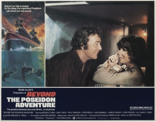 Beyond the Poseidon Adventure (Collection of 8 original lobby cards from the 1979 film). Irwin...