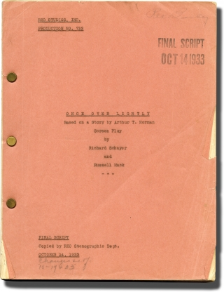 The Meanest Gal in Town [Once Over Lightly] (Original screenplay for the 1934 film). Russell...
