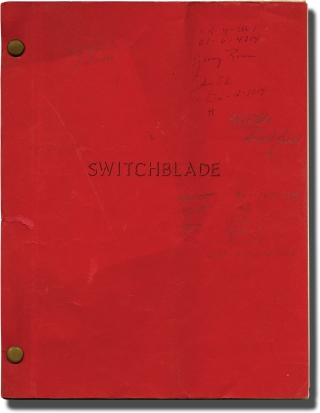 Wild Youth [Switchblade] (Original screenplay for the 1961 film). John F. Schreyer, Lester...