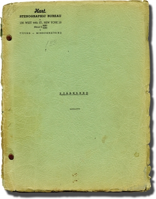 Possessed (Original script for an unproduced 1946 play). Wright Esser, Mason Curry, playwrights
