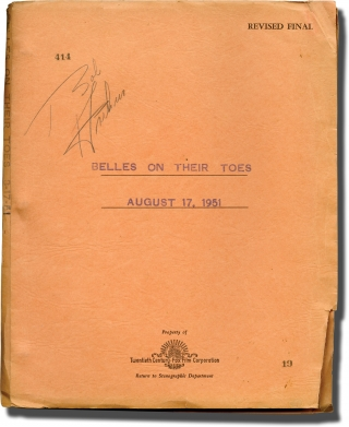 Belles on Their Toes (Original screenplay for the 1952 film). Henry Levin, Henry Ephron Phoebe...