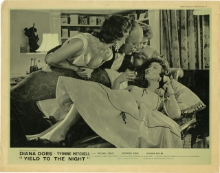Yield to the Night [Blonde Sinner] (Original British front-of-house card for the film). J. Lee...