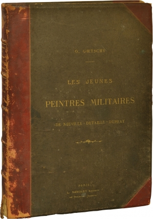 Les Jeunes Peintres Militaires (First Edition). Gustave Goetschy