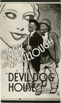 In the Devildog House [Devil Dog House] (Photographic proof of a trial poster from the 1934 film...
