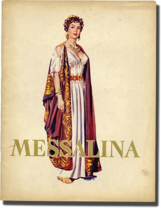The Affairs of Messalina [Messalina] (Original Italian Souvenir Program for the 1951 film)....