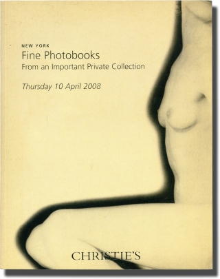 Christie's Auctions Catalog: Fine Photobooks. Christie's Auctions, Christie's Auction Catalog