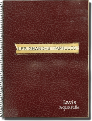 The Possessors [Les grandes familles ] (Collection of 288 original photographs from the 1958...