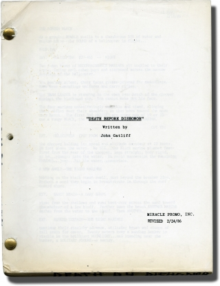 Death Before Dishonor (Original screenplay for the 1987 film). Terry Leonard, John Gatliff,...