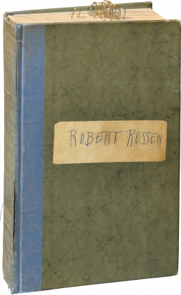 Lilith (First Edition, Robert Rossen's annotated copy). J. R. Salamanca