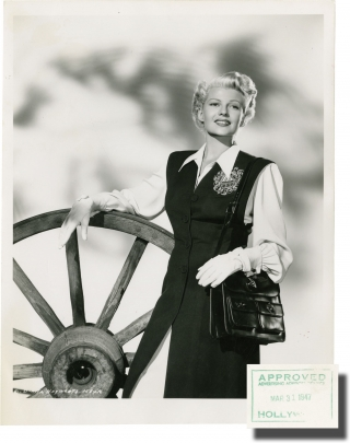 The Lady from Shanghai (Collection of seven fashion photographs of Rita Hayworth from the 1947...