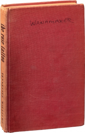 The Rose Tattoo (First Edition, producer-actor Sam Wanamaker's working copy for the 1959 play)....