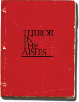 Terror in the Aisles (Original screenplay for the 1984 film). Donald Pleasence, Margery Doppelt,...
