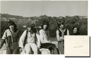 Two original photographs of The Rolling Stones with Mick Taylor, circa 1969-1974